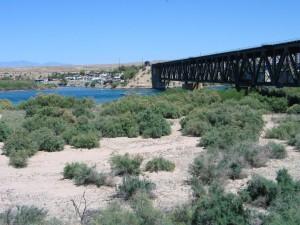 The Colorado River As We Crossed Into California