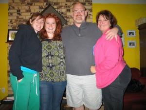 KT, Mimi, Shaun, Susie